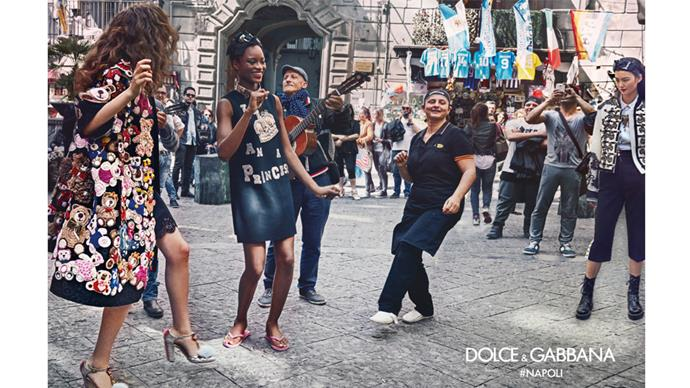 <strong>Dolce & Gabbana</strong> <br><br> Shot by Franco Pagetti