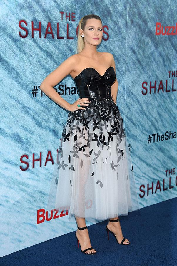 <strong>June 21st, 2016</strong><br><br> Blake stunned on the red carpet for American premiere of <em>The Shallows</em> in New York.