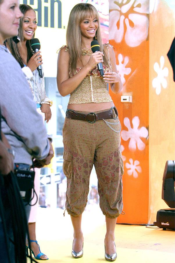 <strong>Cropped Pirate pants</strong><br><br> Beyoncé, 2003