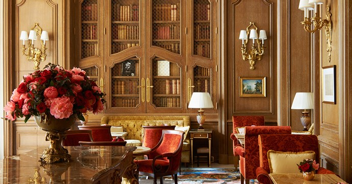 Inside Ritz Paris Hotel