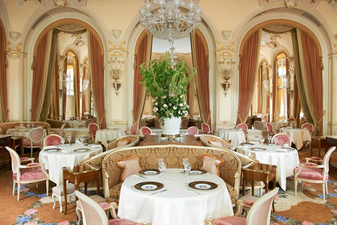 <strong>The hotel's high-end restaurant, L'espadon, serves breakfast, lunch and dinner</strong> <br><br> Chef Nicolas Sale oversees the cuisine.