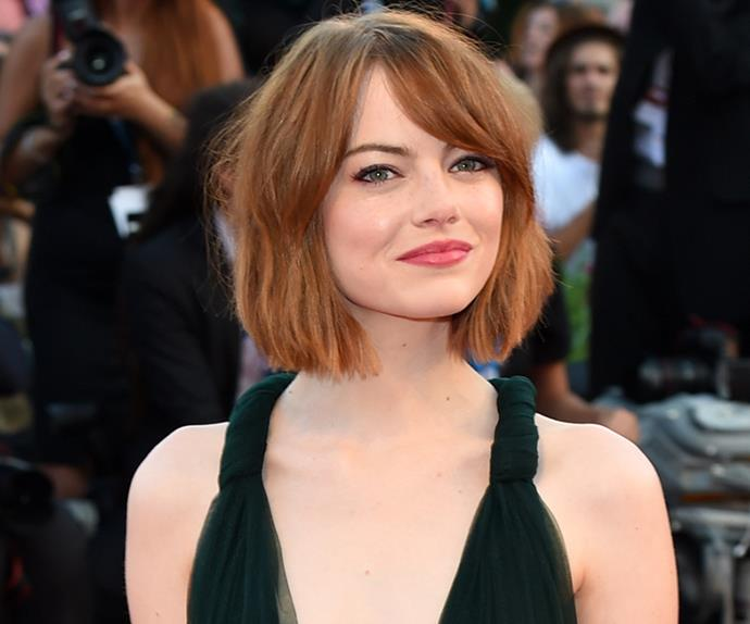celebrities hair length