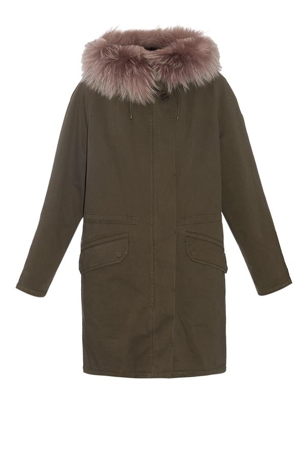"""<strong>Kristie Manuel, <a href=""""http://www.thestyleset.com/aspx/home.aspx"""">The Style Set</a>:</strong> <br><br> """"Yves Salomon's Army parka in the colour of the season, khaki. Perfect for our casual winter weekends, this cult style is both practical and effortlessly cool. A great investment piece that will serve you will for years to come."""" <br><br> <strong>The key buy: </strong>Yves Salomon parka, $2,765, from <a href=""""http://thestyleset.com/aspx/product.aspx?pid=2289&pn=%22ARMY%22%20RABBIT%20FUR%20LINED%20PARKA%20IN%20KHAKI&s="""">The Style Set</a>."""
