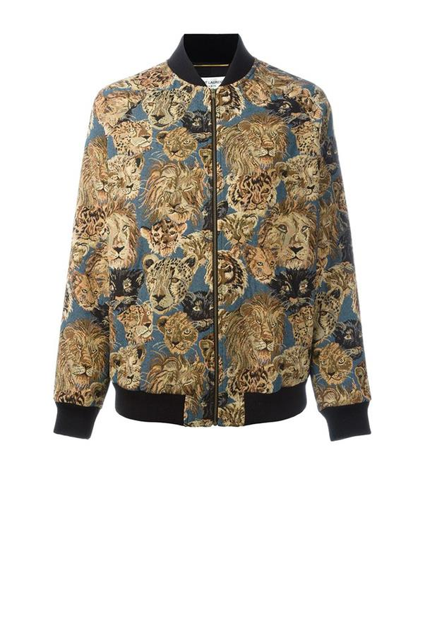 """<strong>Eva Galambos, <a href=""""https://www.parlourx.com/"""">Parlour X</a>:</strong> <br><br> """"The bomber jacket - it's the new cult item, as seen by Saint Laurent, Chloe and Stella McCartney. Our clients can't get enough and we've sold out of all current season styles."""" <br><br> <strong>The key buy: </strong>Saint Laurent jacket, $2,195, from <a href=""""http://www.parlourx.com/saint-laurent-teddy-tapestry-cat-print-bomber-jacket-multi.html"""">Parlour X</a>."""