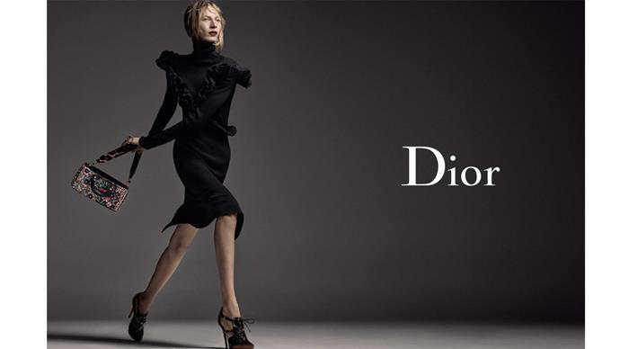 <strong>Dior</strong> <br><br> Modelled by Julia Nobis, shot by Steven Meisel
