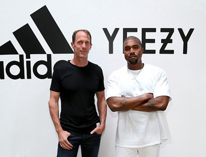 adidas and kanye west partnership