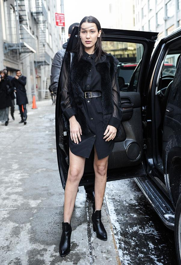 New York Fashion Week, February 15 2015.