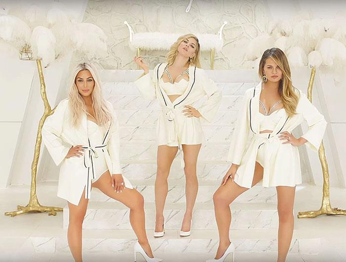 Supermodels Star in new Fergie Music Video