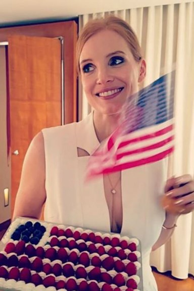 Celebrities Celebrate Fourth OF July Weekend