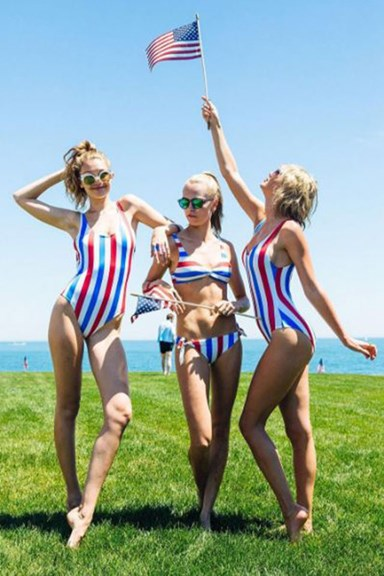Taylor Swift Threw A Fourth Of July Beach Party And Everyone Was There