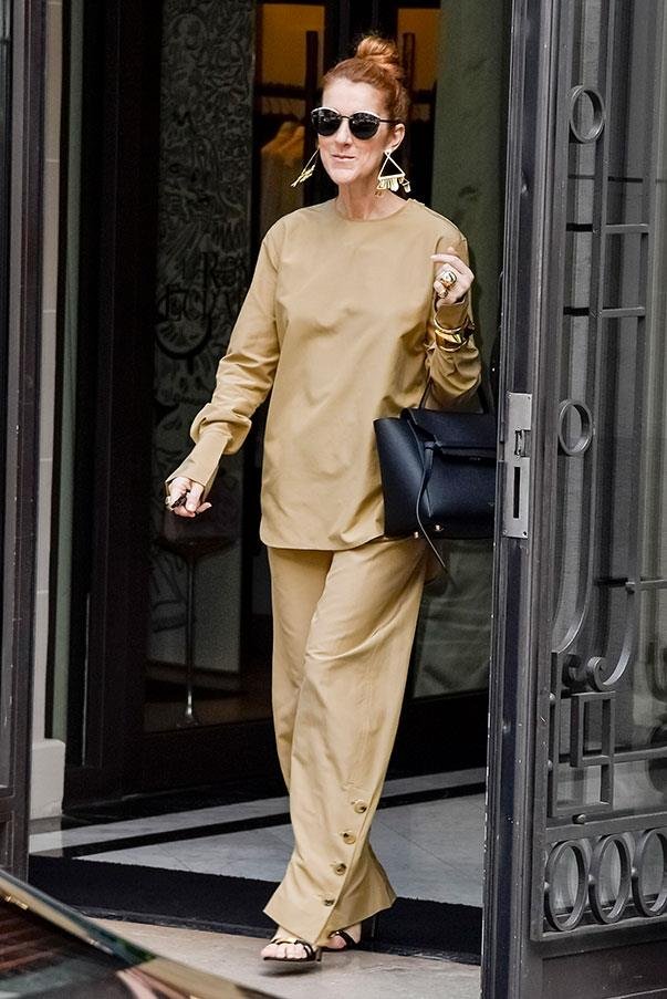 <strong>24th June, 2016</strong> <br><br> In head-to-toe Céline while out and about in Paris.