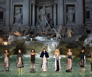 fendi 90th anniversary couture show