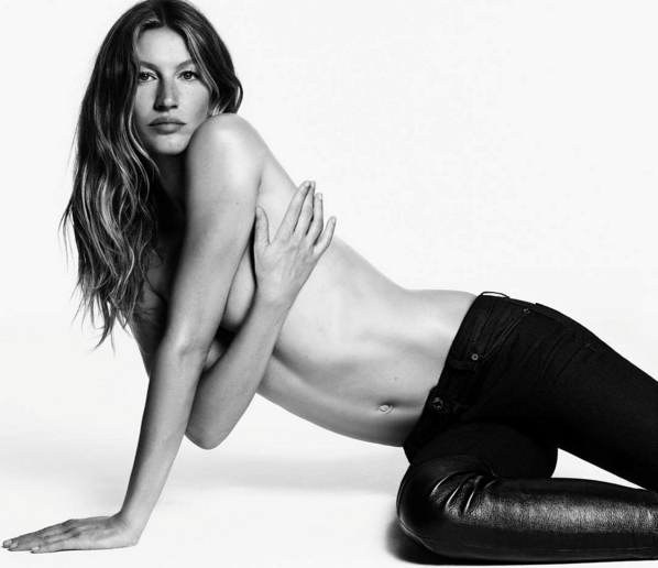 <strong>Givenchy Jeans</strong><br><br> Modelled by Gisele Bündchen & Cauã Reymond, shot by Luigi and Iango