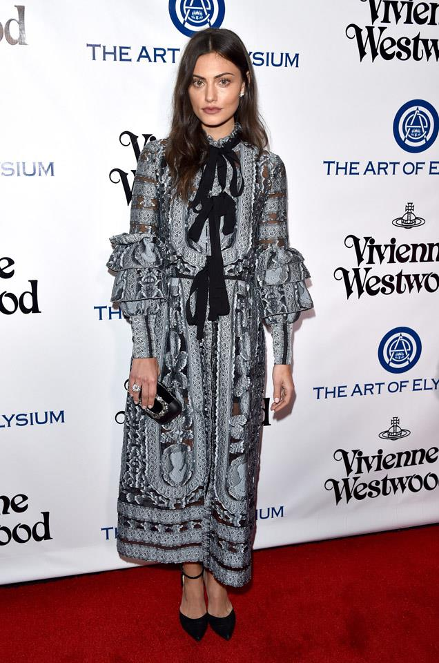 <strong>January, 2016</strong><br><br> At the Art of Elysium 2016 HEAVEN Gala in California.