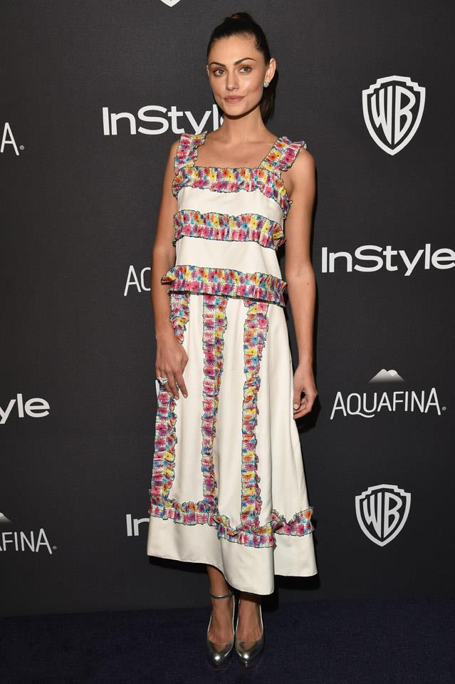 <strong>January, 2016</strong><br><br> At the <em>InStyle</em> And Warner Bros. 73rd Annual Golden Globe Awards after party in Beverley Hills.