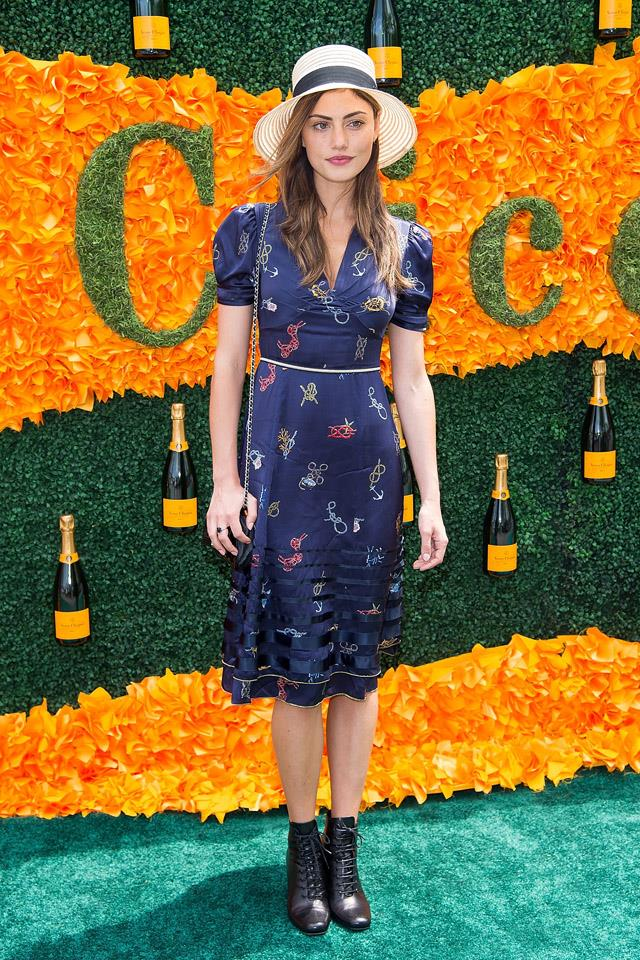 <strong>June, 2016</strong><br><br> At the Veuve Clicquot Polo Classic at Liberty State Park in New Jersey.