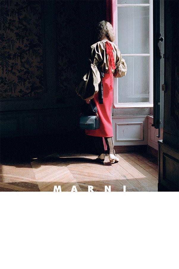<strong>Marni</strong><br><br> Shot by Hellen Van Meene