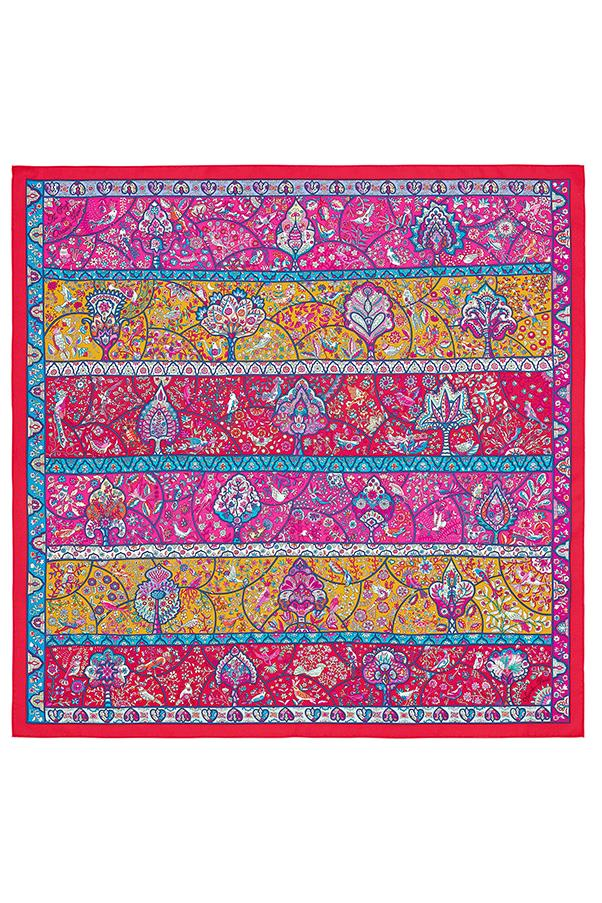 "<strong>2. An Hermés Silk Scarf</strong> <br><br>Either in iconic orange or in a bohemian print, a Hermés silk scarf is an eternal investment. Looped around the neck, tied onto the handle of your bag or threaded through the loops of your jeans; it's as versatile as it is chic. <br><br>Hermés Silk Scarf, $680, <a href=""http://australia.hermes.com/la-maison-des-carres/carre-twill-100-soie-90cm-au-pays-des-oiseaux-fleurs-rouge-90696.html"">Hermés</a>"