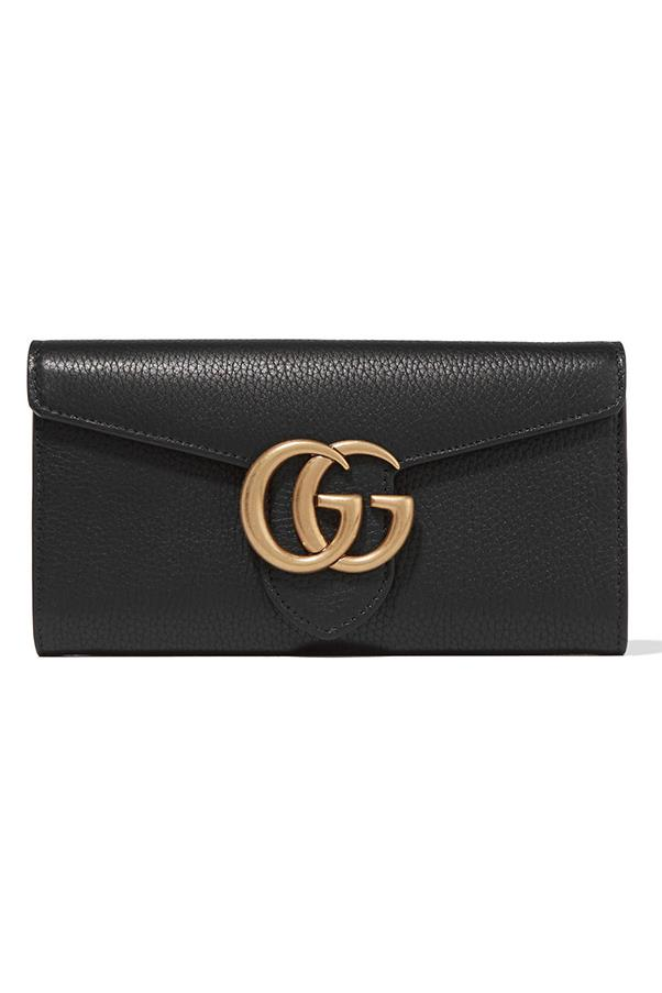 "<strong>10. An Investment Wallet</strong> <br><br>Considering you use it every day, a wallet is a wise and beautiful investment in our books. This Gucci one stole our hearts. <br><br>Gucci GG Marmont Wallet, $810, <a href=""https://www.net-a-porter.com/au/en/product/713234/gucci/gg-marmont-textured-leather-wallet"">Gucci</a>"
