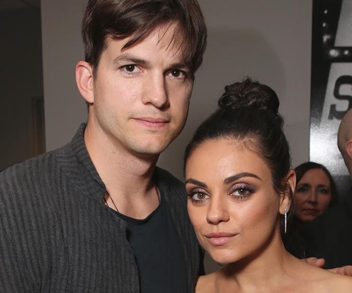mila kunis ashton kutcher breastfeeding