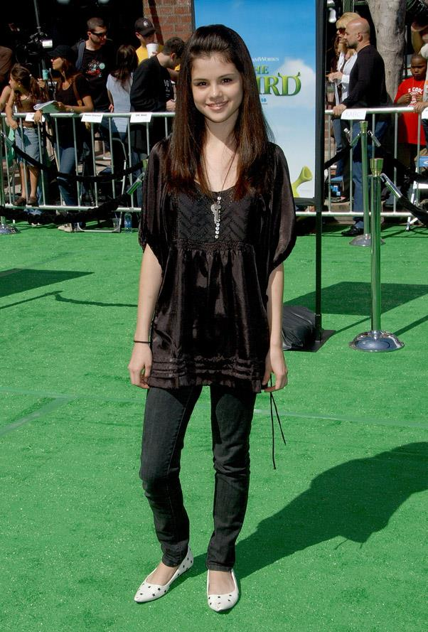At the Los Angeles premiere of Shrek The Third, 6th May 2007.