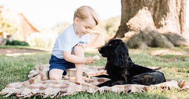 Prince George Takes Adorable To A New Level In These Birthday Portraits