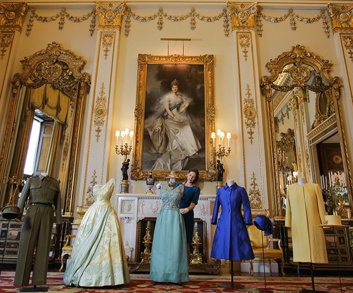 queen elizabeth II couture exhibition