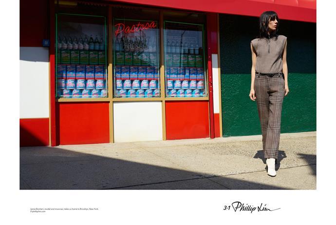 <strong>3.1 Phillip Lim</strong><br><br> Modelled by Jamie Bochert, shot by Viviane Sassen