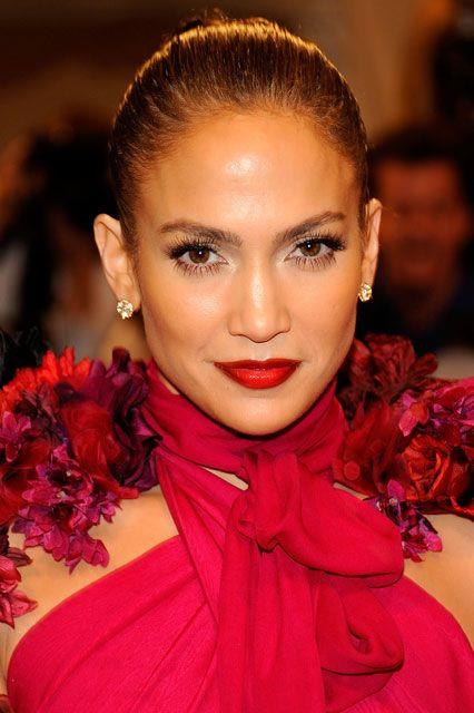 As she got older, her beauty became bolder and she was seen rocking a cherry lip more often (thank goodness). Her dewy skin was the perfect match for the Gucci dress she donned at the 2011 Met Gala.