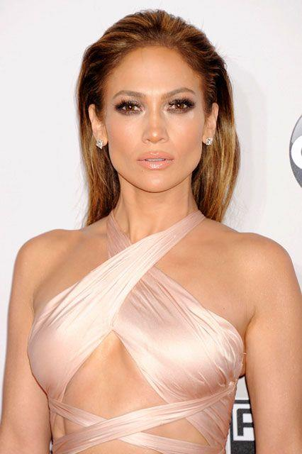 When it 2014 hit, slicked back hair was JLo's go-to.