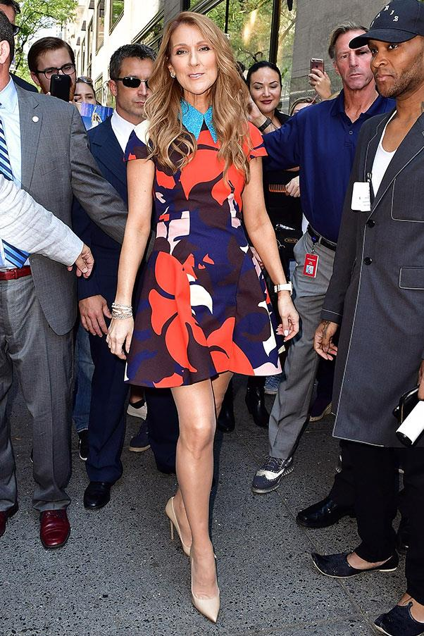 <strong>July 21st, 2016</strong> <br><br> In a chic Delpozo mini-dress while out and about in New York.