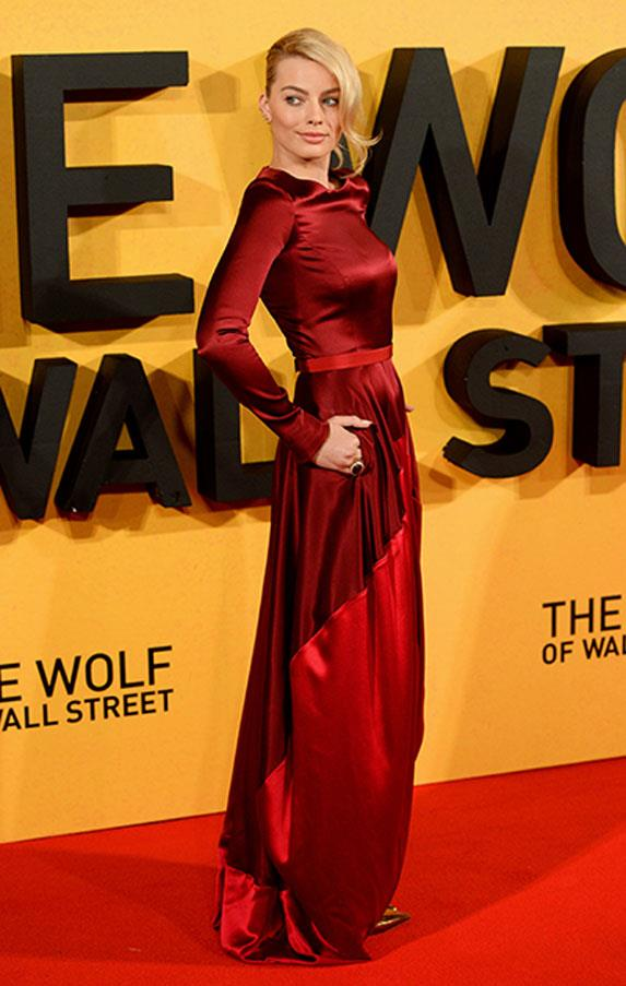 <strong>January 9, 2014</strong> <br><br> 'The Wolf Of Wall Street' UK premiere.