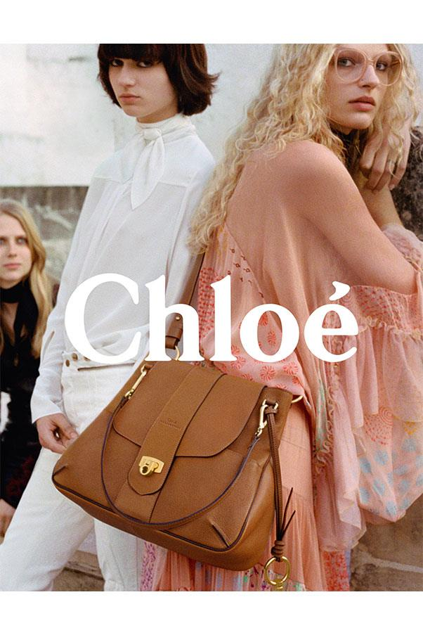 <strong>Chloé</strong><br><br> Modelled by Sofie Hemmet, Michi Kat, Ellen De Weer and Frederikke Sofie, shot by Theo Wenner