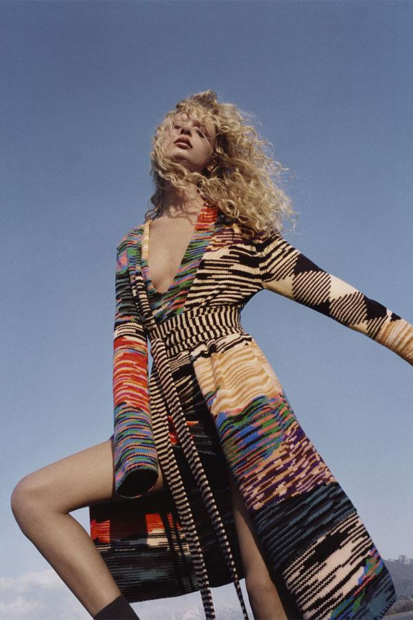<strong>Missoni</strong><br><br> Modelled by Frederikke Sofie, shot by Harley Weir