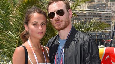 Watch Alicia Vikander and Michael Fassbender Gush About How They First Met