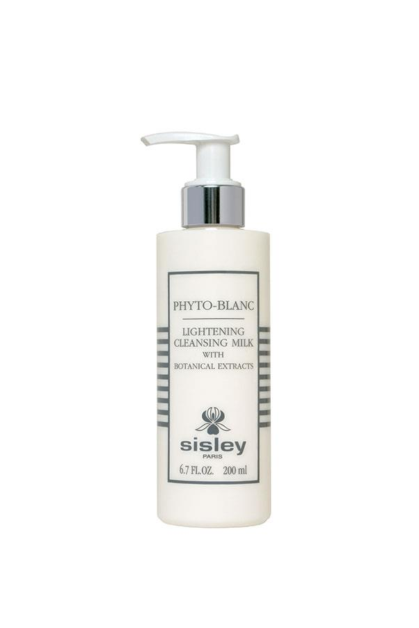 "<strong>Cleanser</strong> <br><br> Sisley Phyto-Blanc Lightening Cleansing Milk, <a href=""http://www.sisley-paris.com/en-AU/phyto-blanc-lightening-cleansing-milk-200ml-3473311596000.html"">$130</a>, is enriched with white mulberry, lemon extracts and Scutellaria which work on evening out the skins complexion. The indulgent cleansing milk is jam-packed with active ingredients that leave your skin glowing."