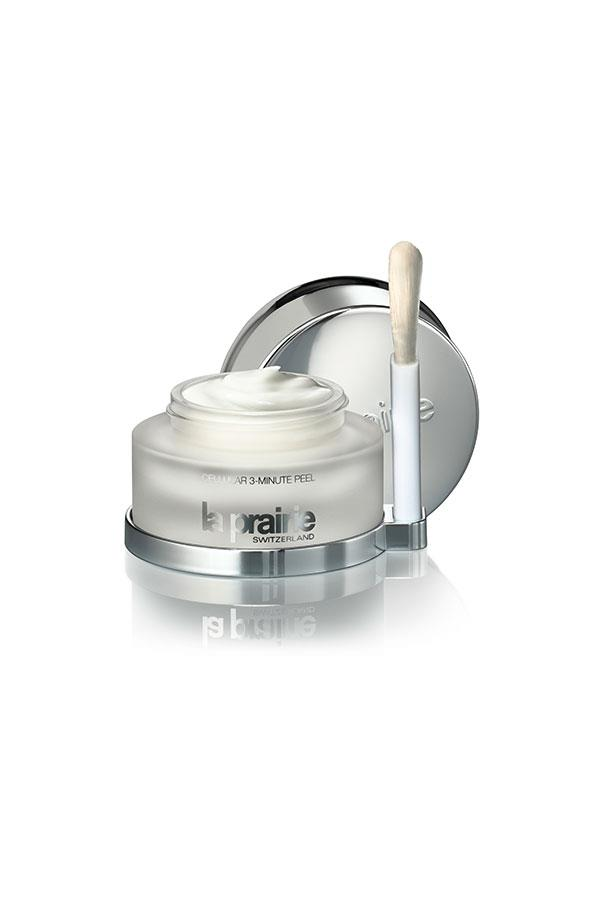 "<strong>Exfoliant</strong> <br><br> La Prairie Cellular 3-Minute Peel, <a href=""http://www.laprairie.com.au/au/cellular-3-minute-peel/95790-00189-36.html"">$270</a>, resurfaces dull skin tones with a combination of AHAs, BHAs and fruit acids to reveal fresh baby soft skin."