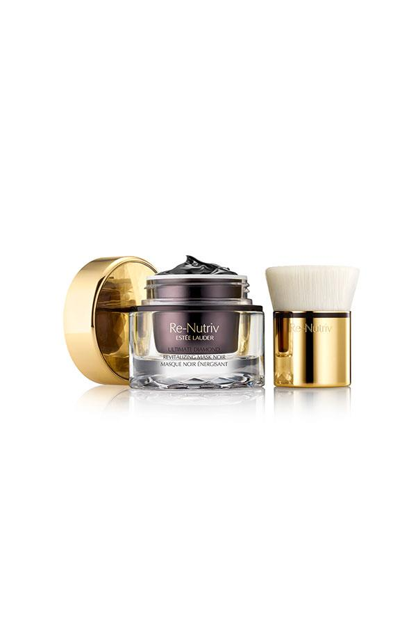 "<strong>Mask</strong> <br><br> Estee Lauder Re-Nutriv Ultimate Diamond Revitalising Mask Noir, <a href=""http://www.esteelauder.com.au/product/13783/37353/Product-Catalog/Re-Nutriv/Collections/Re-Nutriv-Ultimate-Diamond/Re-Nutriv/Ultimate-Diamond-Revitalizing-Mask-Noir"">$420</a>, combines a 2-step process of dry-brushing with a silky custom brush followed by a purifying noir mask with Black Diamond truffle. Found exclusively on the hazelnut and oak trees of France, Black Diamond Truffle renews the skins capability to fight anti-aging processes."