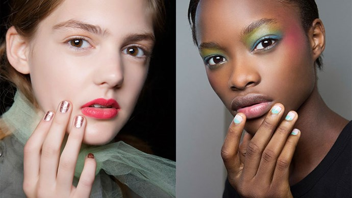 Battle the cold winter months with these 12 cooler-than-cool nail art trends, brought to you direct from the runway.