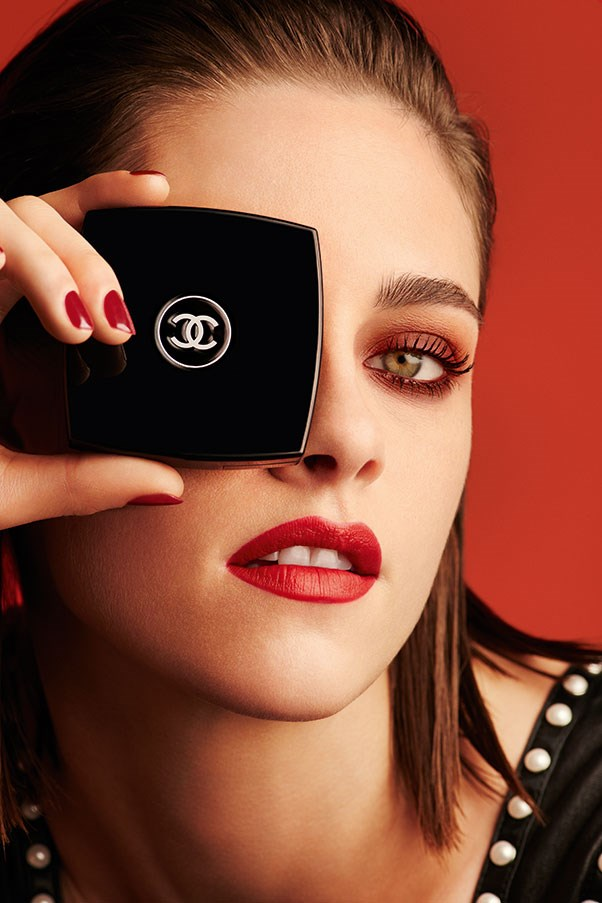 Kristen Stewart is Red Hot in Chanel Makeup's Latest Campaign