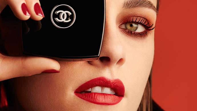 Karl Lagerfeld muse Kristen Stewart is red hot in Chanel make-up's latest campaign. See for yourself, here.