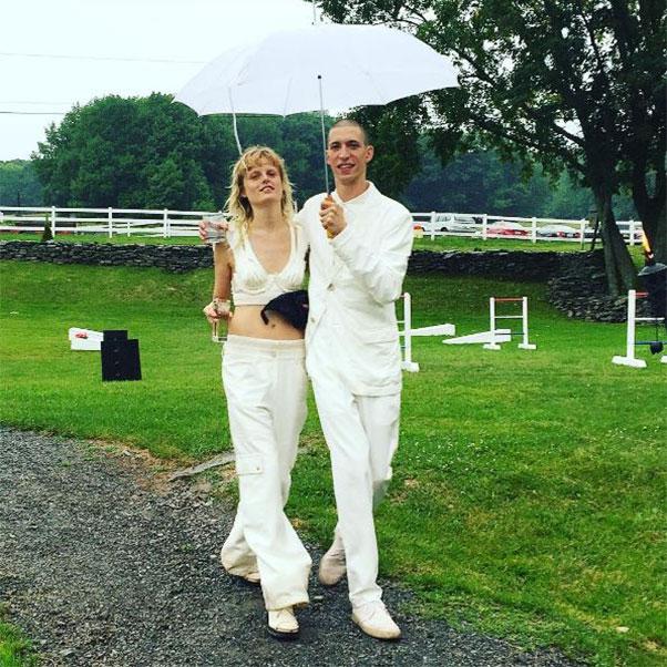 Hanne Gaby Odiele Wedding Balenciaga : Harper's BAZAAR