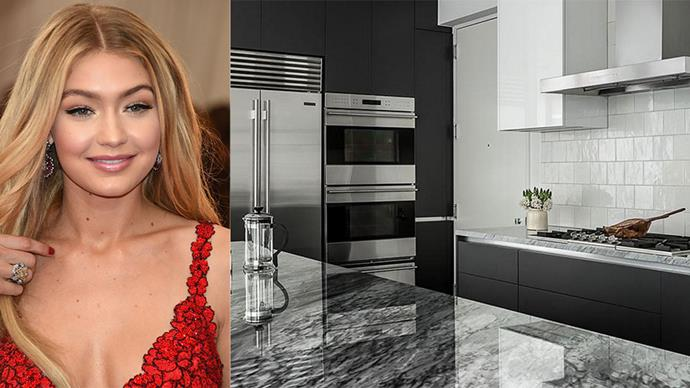 Inside Gigi Hadid's stylish new New York apartment (for when she's not shacking up with boyfriend Zayn Malik in Los Angeles, of course...)