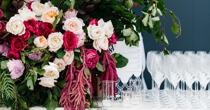 Inside the flower-filled, elegant nuptials of Nicole and Matt.