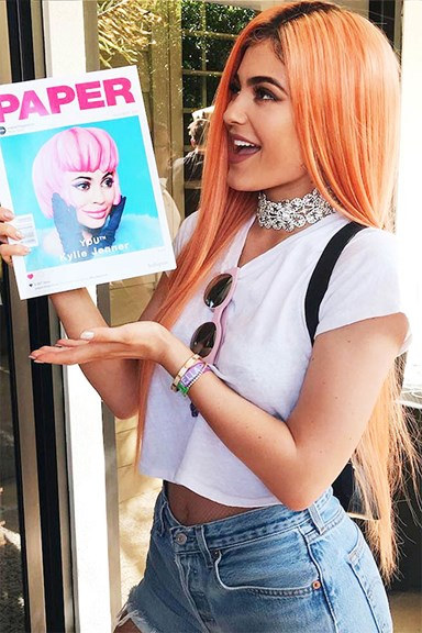26 Times Kylie Jenner Dramatically Changed Up Her Hairstyle