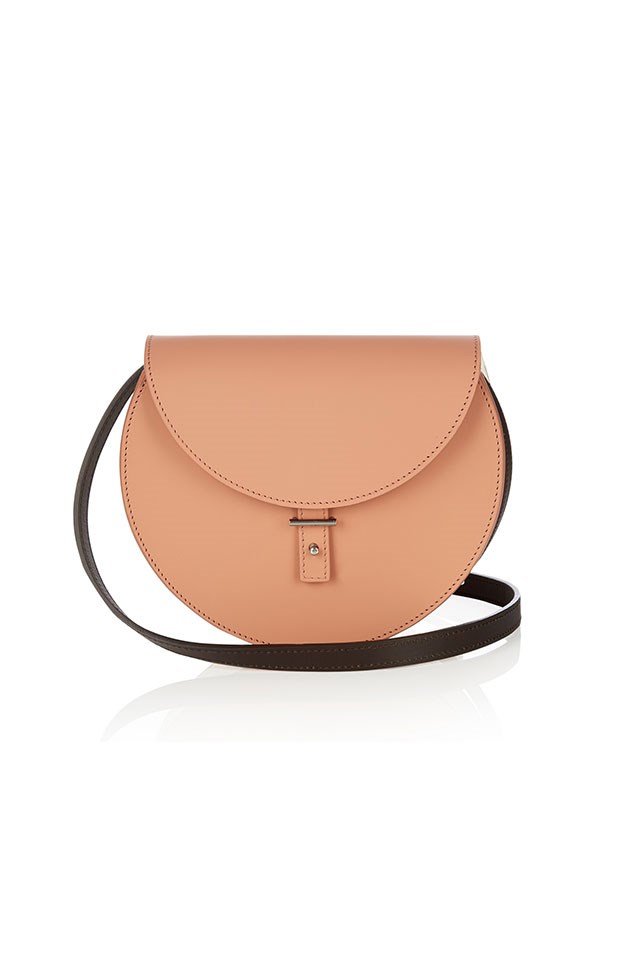 "<strong>PB 0110</strong><br><br> Sticking to a strictly minimalist design aesthetic, designer Philipp Bree's handbags have become the cornerstone of cool-girls' oufits in every corner of the globe, from his native Belgium to Venice Beach, Los Angeles. <br><br> AB21 leather cross-body bag, $656, <a href=""http://www.matchesfashion.com/au/products/Pb-0110-AB21-leather-cross-body-bag%09-1058234"">Matches Fashion</a>"