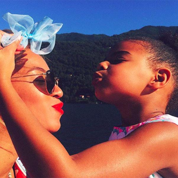"<strong>Beyoncé and Blue Ivy</strong> <br><br> <a href=""https://www.instagram.com/beyonce/"">@beyonce</a>"