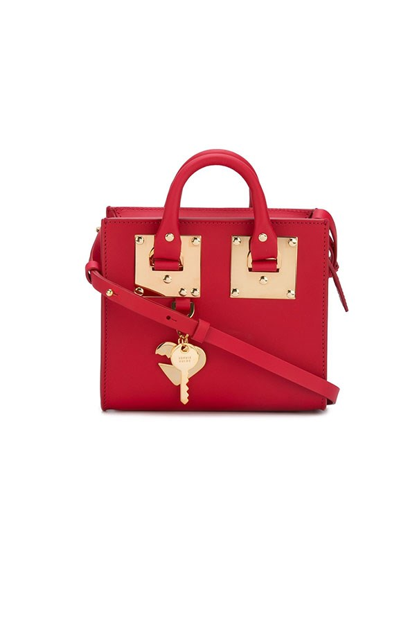 "<strong>Sophie Hulme</strong><br><br> You're likely to see any number of street style stars toting Hulme's playful box-shaped bags outside the shows come September - preferably in a bright hue of red, pink or blue or a fun graphic print. <br><br> Mini 'Albion' box crossbody by Sophie Hulme, $799, <a href=""http://www.farfetch.com/au/shopping/women/sophie-hulme-mini-albion-box-crossbody-item-11574381.aspx?storeid=9053&from=listing&tglmdl=1&ffref=lp_pic_40_2_"">Farfetch</a>"