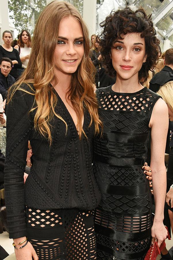 """<strong><a href=""""http://www.harpersbazaar.com.au/news/celebrity-tracker/2016/3/cara-delevingne-pens-powerful-essay-about-self-acceptance-time/"""">August 5, 2016</a></strong> <br><br> """"It's like, when you find a real love, you look back on the other loves you've had and you're like, 'Ooh, that was a bit destructive.'"""""""