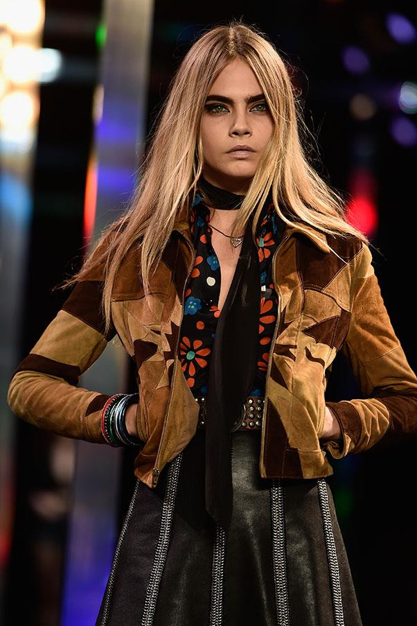 """<strong><a href=""""http://www.harpersbazaar.com.au/news/celebrity-tracker/2015/9/cara-delevingne-twitter-rant-paparazzi/"""">September 25, 2015</a></strong> <br><br> """"I refuse to let these grown men treat people like objects with no feelings and get away with it, I will never be silent."""""""